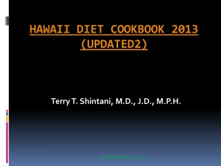 Hawaii Diet Cookbook 2013 (updated2)16
