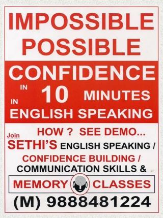 SETHI'S ENGLISH SPEAKING
