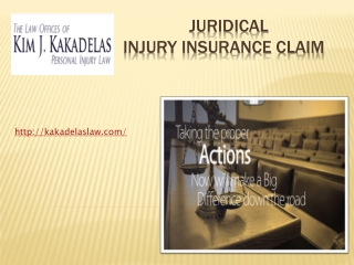 Juridical Injury Insurance Claims