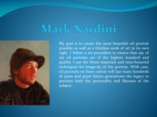 Mark Nardini Portraits and Fine Art