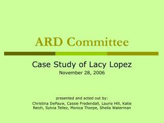 ARD Committee