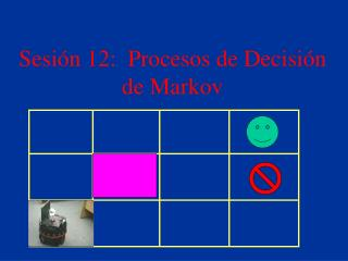 Sesi n 12:  Procesos de Decisi n de Markov