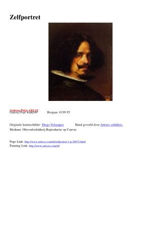 Zelfportret - Artisoo.com