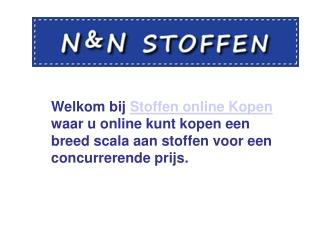 Stoffen Online Kopen