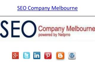 SEO Company Melbourne
