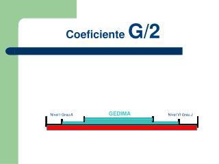 Coeficiente G