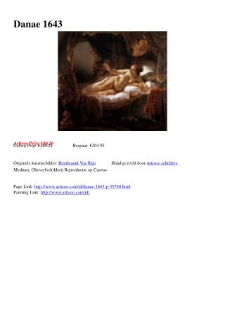 Danae 1643 - Artisoo.com
