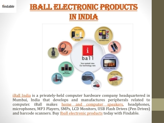 iBall India stores near you to shop iBall Mobiles, Headset