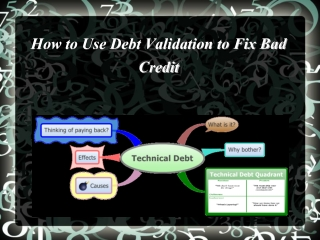 How to Use Debt Validation to Fix Bad Credit