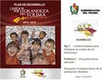 ASAMBLEA  Eje 1. Institucionalidad para fortalecer la unidad de los tolimenses  Pol tica 2. Una gobernanza ejemplar  Pro