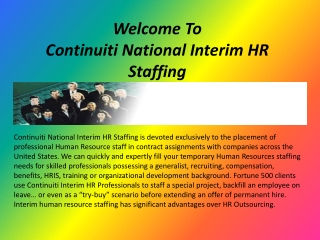 HR staffing experts