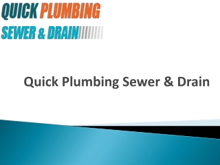 Choose Experienced Plumbers for Emergency Plumbing Services