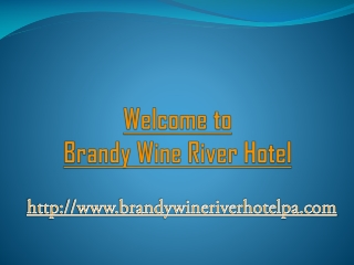 Hotel near chadds ford winery