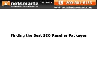 Finding the Best SEO Reseller Packages