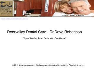 Orthodontist Calgary - Cosmetic Dentist Calgary-Teeth Whiten
