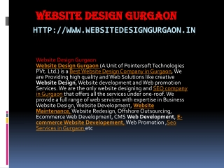website solution company in gurgaon