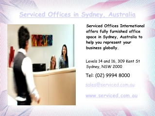 Virtual Office Space in Sydney CBD