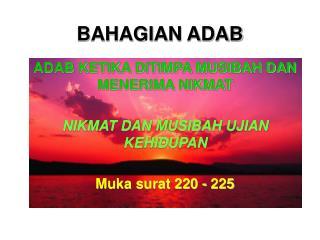 BAHAGIAN ADAB