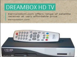 Buy Dm800 HD, Dm800, Dreambox satellite receiver