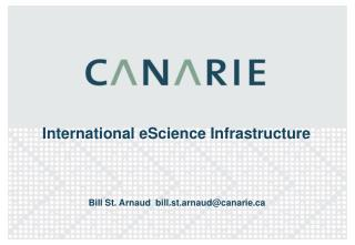 International eScience Infrastructure