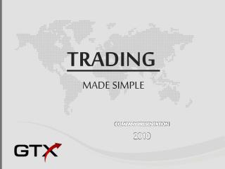 GTX Wholesale Distributor - Company Presentation