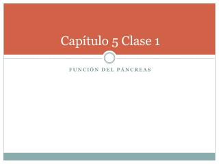 Cap tulo 5 Clase 1