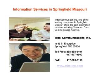 Information Services in Springfield Missouri