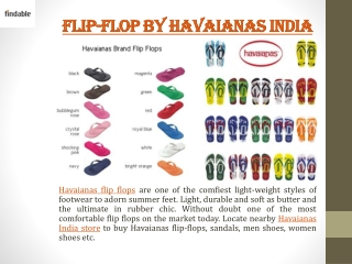 Havaianas India Flip Flops at Findable