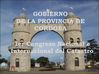GOBIERNO  DE LA PROVINCIA DE CORDOBA