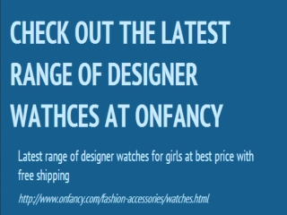 Designer Wrist Watches | Buy Wrist Watches | Bracelet Watche