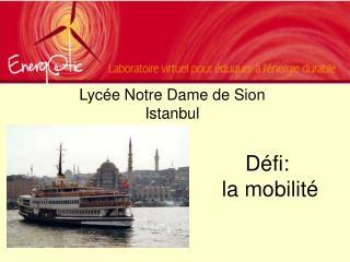 D fi:  la mobilit