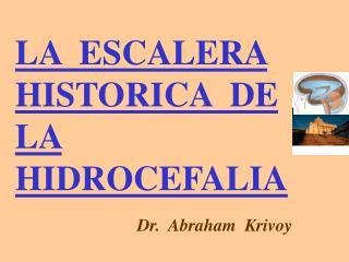 LA  ESCALERA  HISTORICA  DE  LA  HIDROCEFALIA