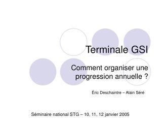 Terminale GSI