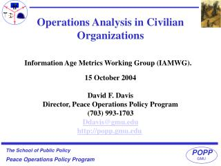 Information Age Metrics Working Group IAMWG.