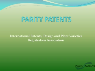 International Patents Registration