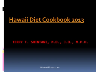 Hawaii Diet Cookbook 2013 (updated2) 21