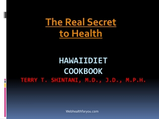 Hawaii Diet Cookbook Spiral 21