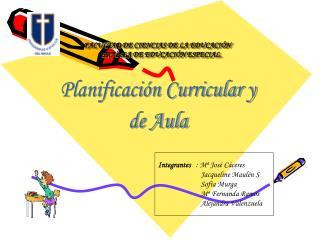 FACULTAD DE CIENCIAS DE LA EDUCACI N      ESCUELA DE EDUCACI N ESPECIAL.