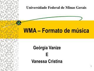 WMA   Formato de m sica