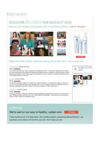 Rejuvasea Anti-Aging Cream