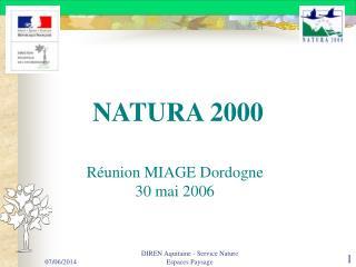 DIREN Aquitaine - Service Nature Espaces Paysage