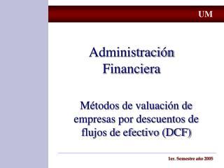 Administraci n Financiera