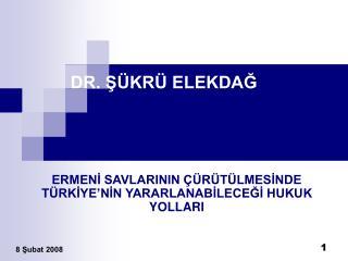 DR. S KR  ELEKDAG