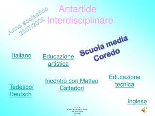Antartide Interdisciplinare