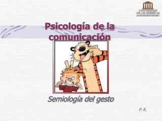 Psicolog a de la comunicaci n