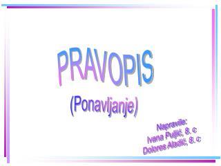 PRAVOPIS