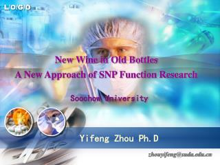 Yifeng Zhou Ph.D