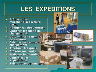 LES  EXPEDITIONS