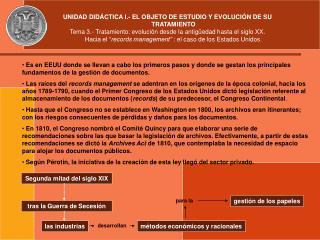 UNIDAD DID CTICA I.- EL OBJETO DE ESTUDIO Y EVOLUCI N DE SU TRATAMIENTO Tema 3.- Tratamiento: evoluci n desde la antig e