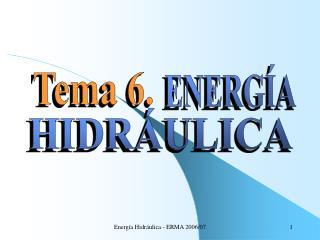 Energ a Hidr ulica - ERMA 2006